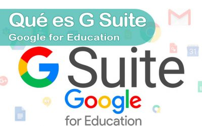 Google for Education – Qué es G Suite